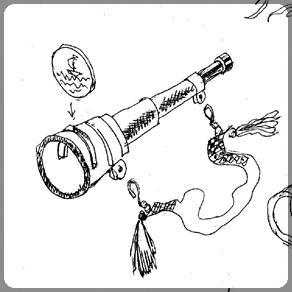 Эскиз трубы для пиратского праздника