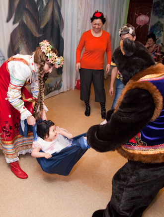 танец знакомство с детьми