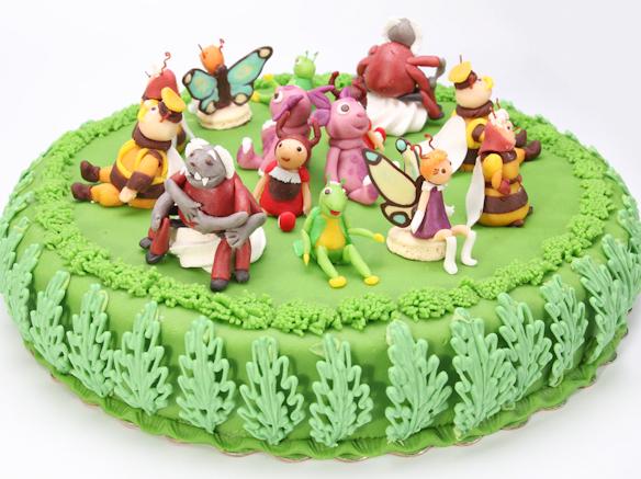 Торт Лунтик и друзья