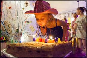 Отпраздновать день рождения ребенка в кафе