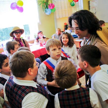 Детский праздник с археологами