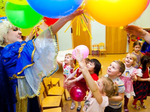 Воздушные шары от Феи