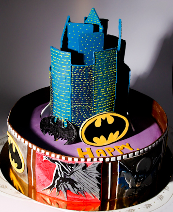 Детский торт Бэтмен Супергерой