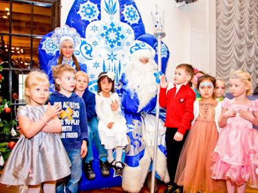 Новогодний праздник елка для детей