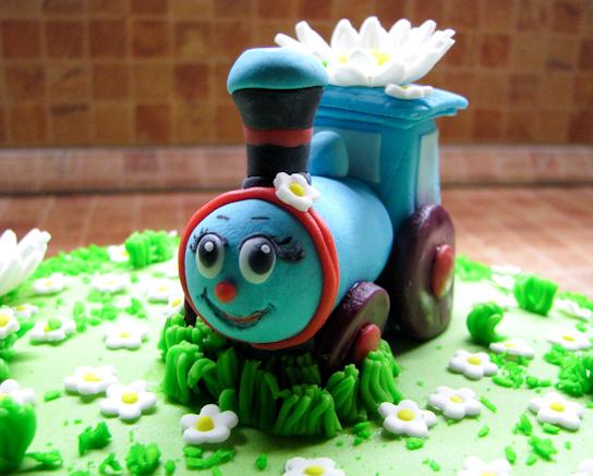 Детский торт паровозик Чаггинтон