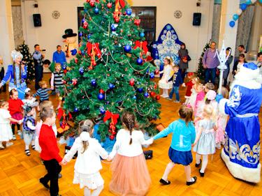 Новогоднее поздравление для детей от Деда Мороза