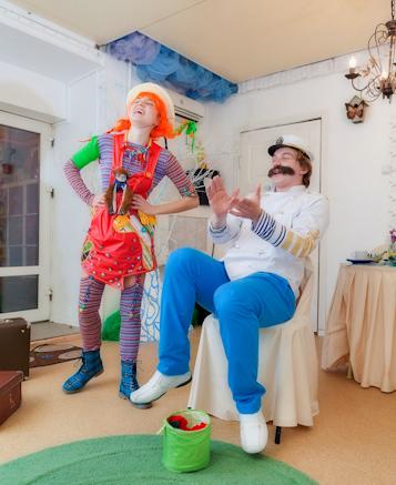 Пеппи на детский праздник