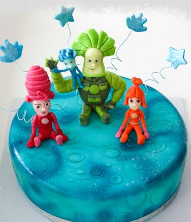 Детский торт мультфильм Фиксики