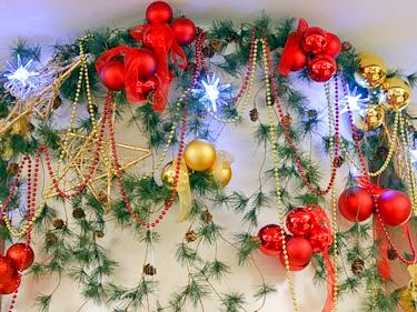 Новогоднее оформление и украшение