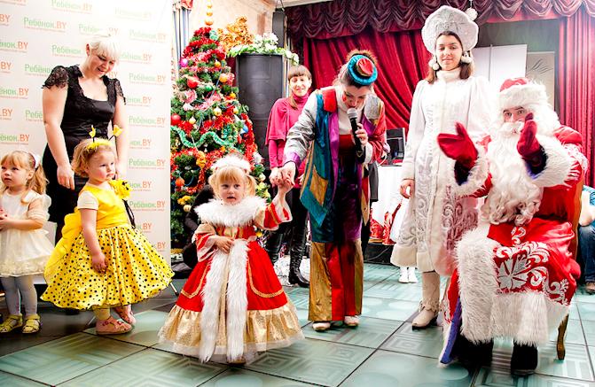Новогодняя детская дискотека