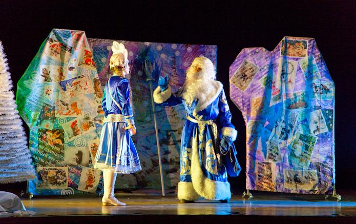 Новогодний спектакль для детей