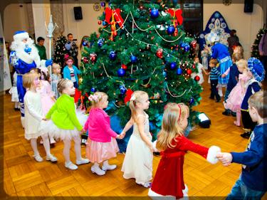 Проведение новогоднего хоровода