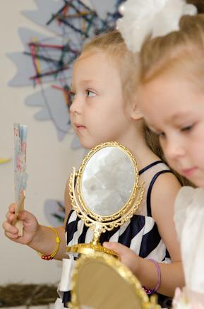Золушка и Принц на детский день рождения