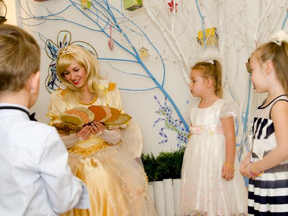 Золушка и Принц на детский праздник