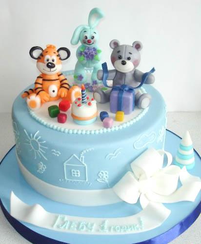Торт тигренок и компания