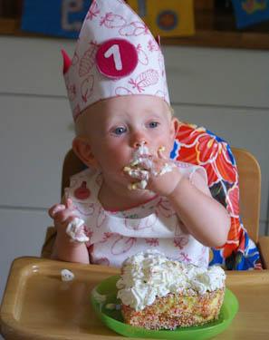 Первый кусочек торта