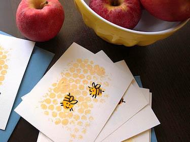 Приглашение-пчелки