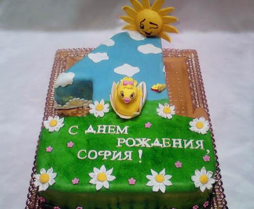 Торт уточка на единице