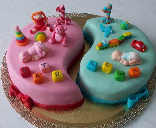Торт кеды на единичке