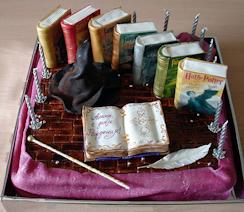 Торт Гарри Поттер-2