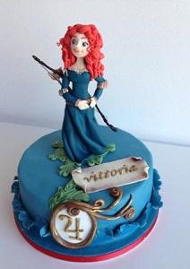 Мерида торт